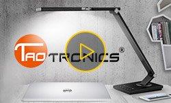 Видео: настольные светодиодные лампы TaoTronics