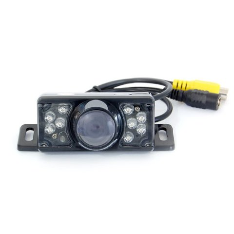 Универсальная автомобильная камера заднего вида GT S617 с инфракрасной подсветкой