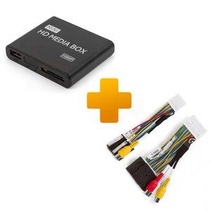 Мультимедійний Full HD плеєр і кабель під'єднання для моніторів Toyota Touch, Scion Bespoke