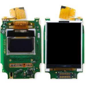 LCD for Fly M130 Cell Phone, (complete, Original)