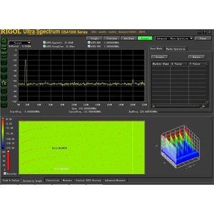 PC Software RIGOL Ultra Spectrum for RIGOL DSA700 / DSA800 / DSA1000