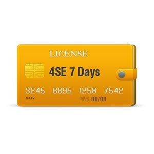 4SE 7 Days License