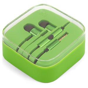 Headphone EN50332-2, (vacuum, green, TRRS 3.5 mm)