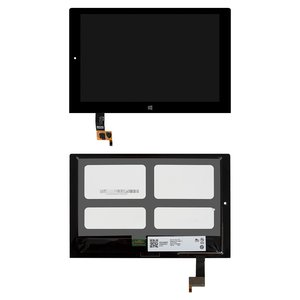 LCD for Lenovo Yoga Tablet 2-1051 LTE Tablet, (black, with touchscreen)