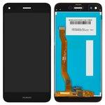 Дисплей для мобильных телефонов Huawei Nova Lite (2017), P9 Lite mini, Y6 Pro (2017), черный, с сенсорным экраном, Original (PRC), SLA-L02, SLA-L22, SLA-L03