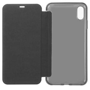Чохол Baseus для iPhone XS Max, чорний, матовий, книжка, силікон, пластик, #WIAPIPH65-TS01