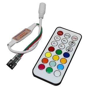 Контроллер с ИК пультом TH2015-X (RGB, WS2811, WS2812, 5 В)