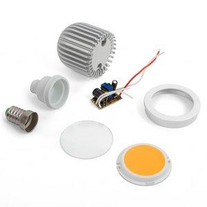 Комплект для сборки светодиодной лампы TN-A43 5 Вт (теплый белый, E14)