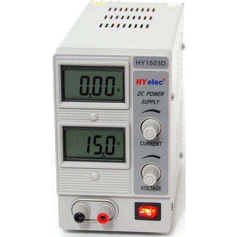 Регульований блок живлення HYelec HY1503D