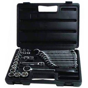 Набор торцевых головок и комбинированых ключей Stanley 1-89-105
