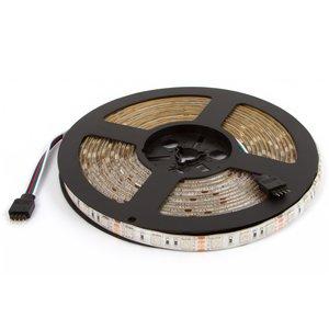 Світлодіодна стрічка RGB SMD5050, IP20 (300 світлодіодів, 12 В DC, 5 м)