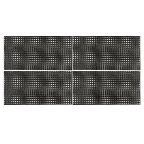 Комплект для збирання LED дисплея для реклами RGB, 640 × 320 мм, контролер, блок живлення