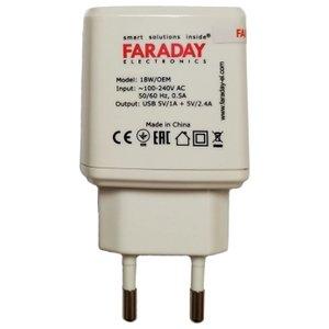 AC/DC-перетворювач Faraday WM 18 Вт, 5 В, 2,4 А