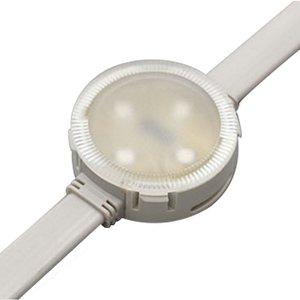 Комплект круглих LED-модулів (повноколірні, 4 світлодіоди SMD3535, 40 мм, IP68, 20шт.)