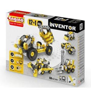 Будівельна техніка 12 в 1 Конструктор Engino Inventor