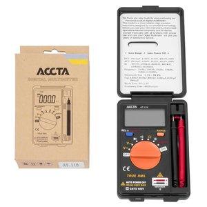 Карманный цифровой мультиметр Accta AT-110