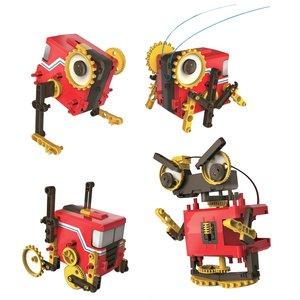"""Juego de construcción CIC 21-891 """"Robot motorizado"""" 4 en 1"""
